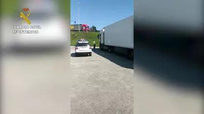 Sucesos.- Interceptado un camionero que no respetó la cuarentena tras hacerse la prueba