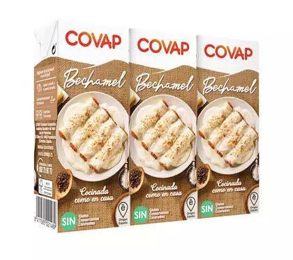 Lácteos Covap lanza una salsa bechamel con leche recogida en sus granjas y sin gluten, colorantes ni conservantes