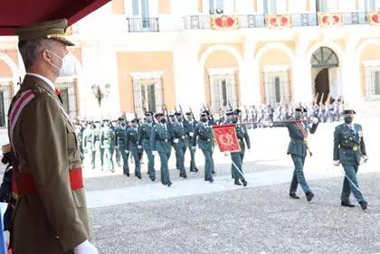 El Rey preside en Aranjuez el acto extraordinario de la Real y Militar Orden de San Fernando